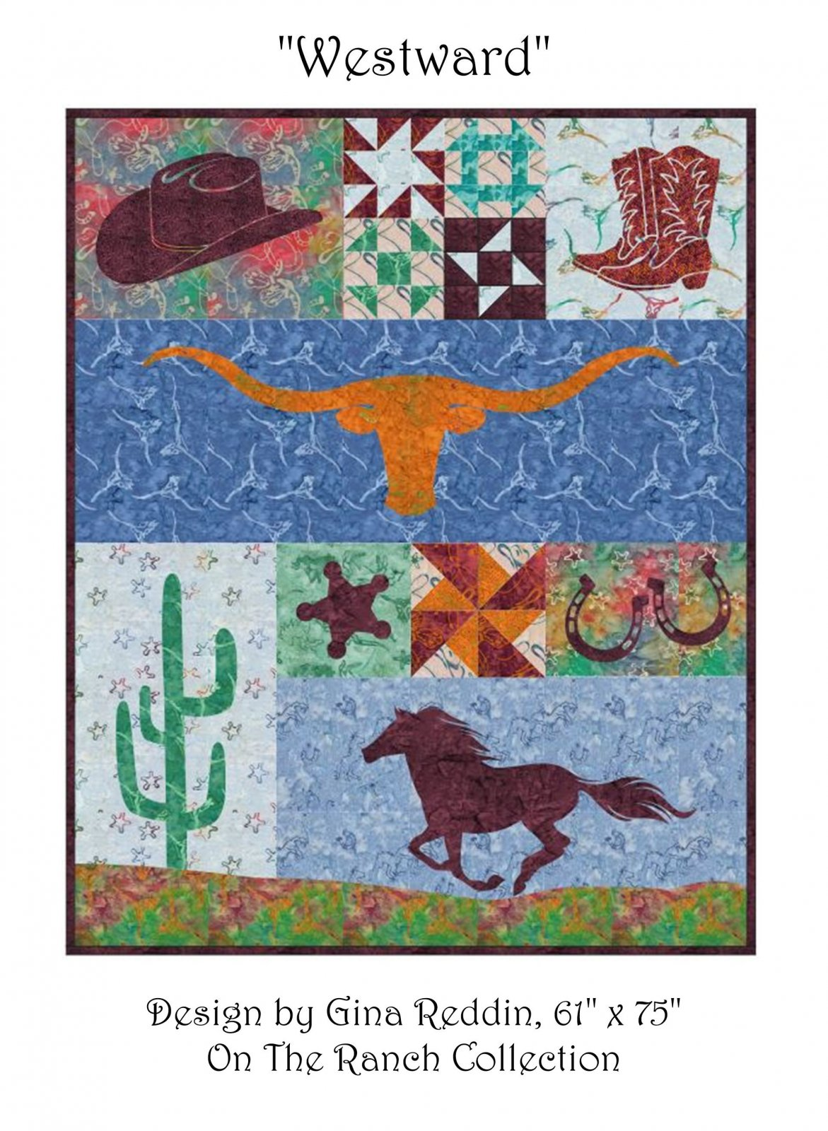 Westward ON THE RANCH Pattern by Gina Redding