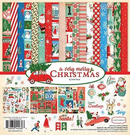 Carta Bella Collection Kit 12x12 - A Very Merry Christmas