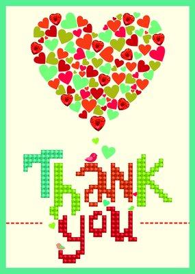 Diamond Dotz Diamond Embroidery Facet Art Greeting Card - Thank You Heart