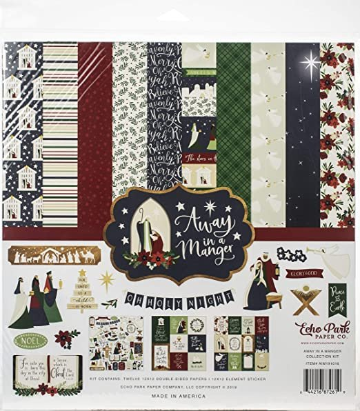 Echo Park Collection Kit 12x12 - Away in a Manger