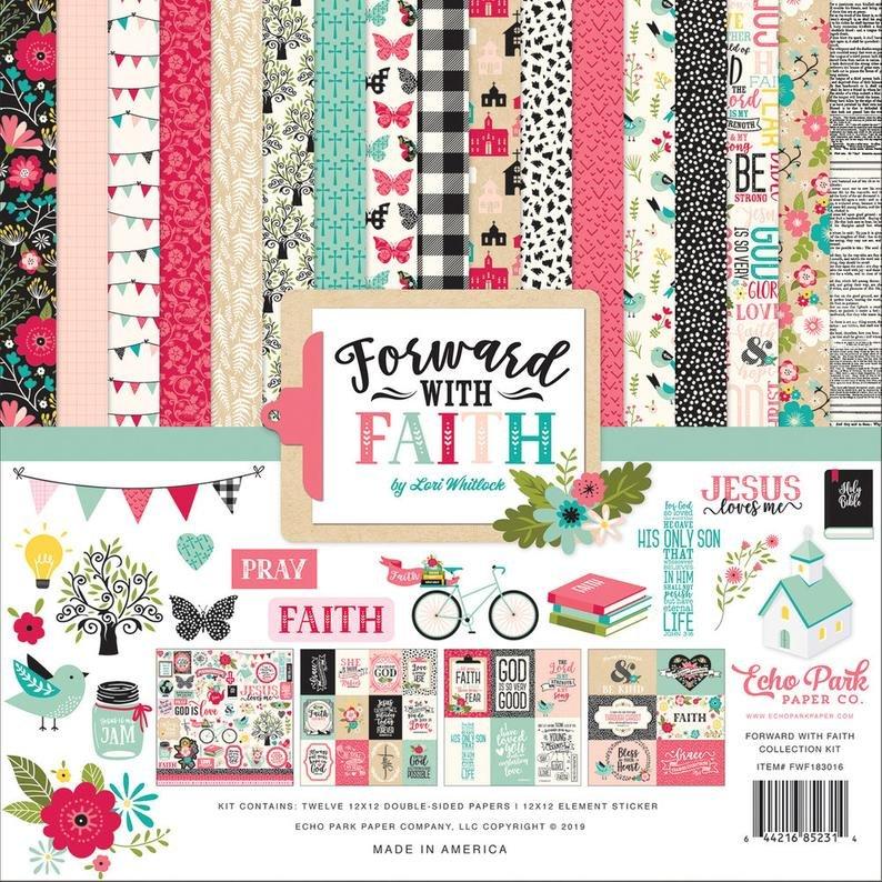 Echo Park Collection Kit 12x12 - Forward with Faith