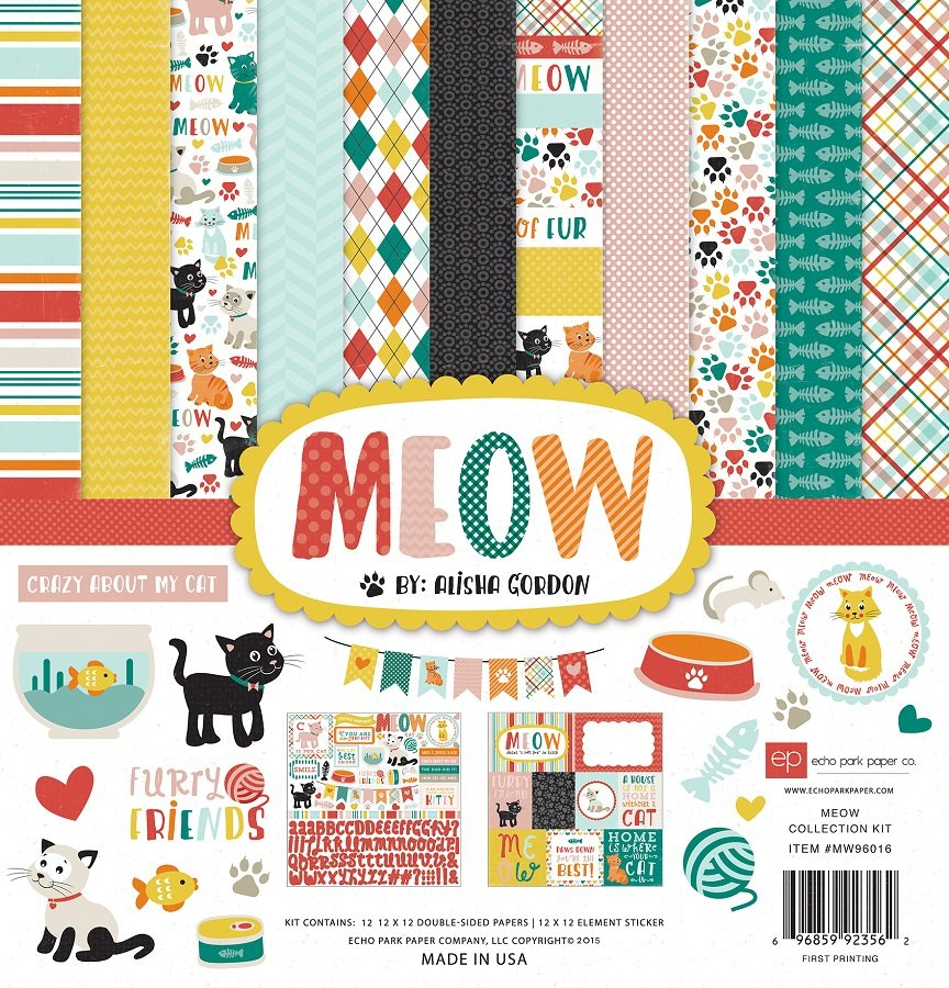 Echo Park Collection Kit 12x12 - Meow