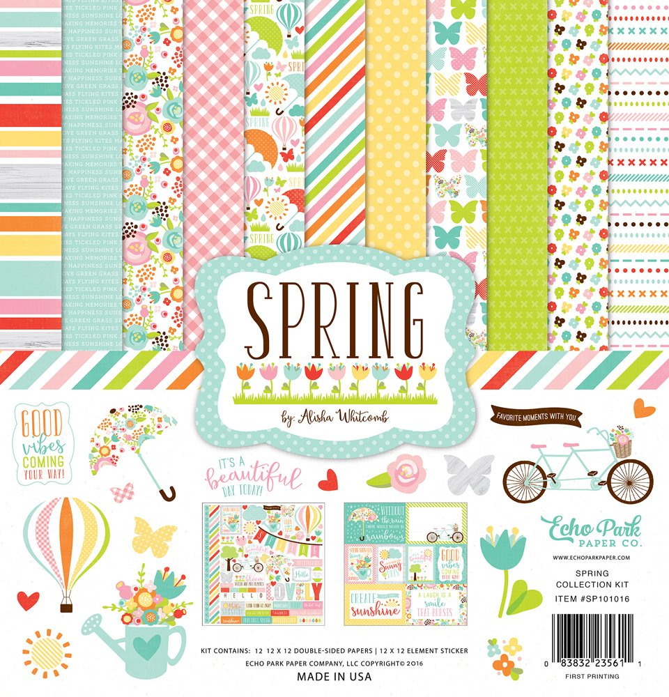 Echo Park Spring Collection Kit - 12 x 12