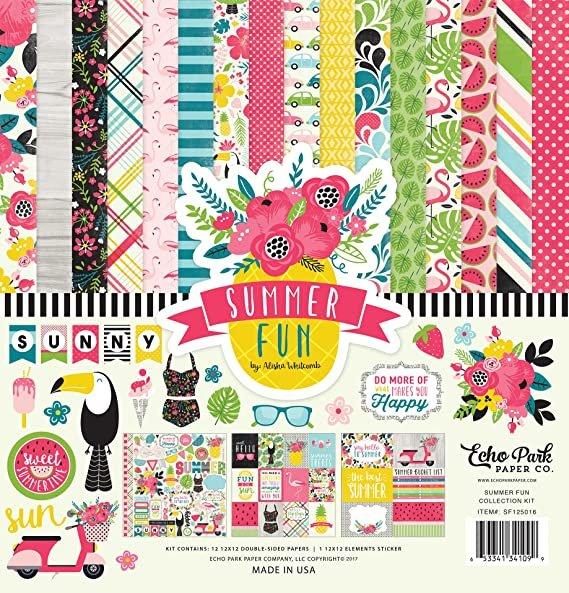 Echo Park Collection Kit 12x12 - Summer Fun