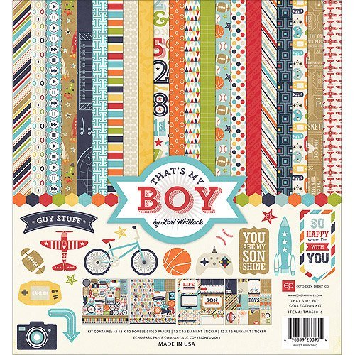 Echo Park Collection Kit 12x12 - That's My Boy
