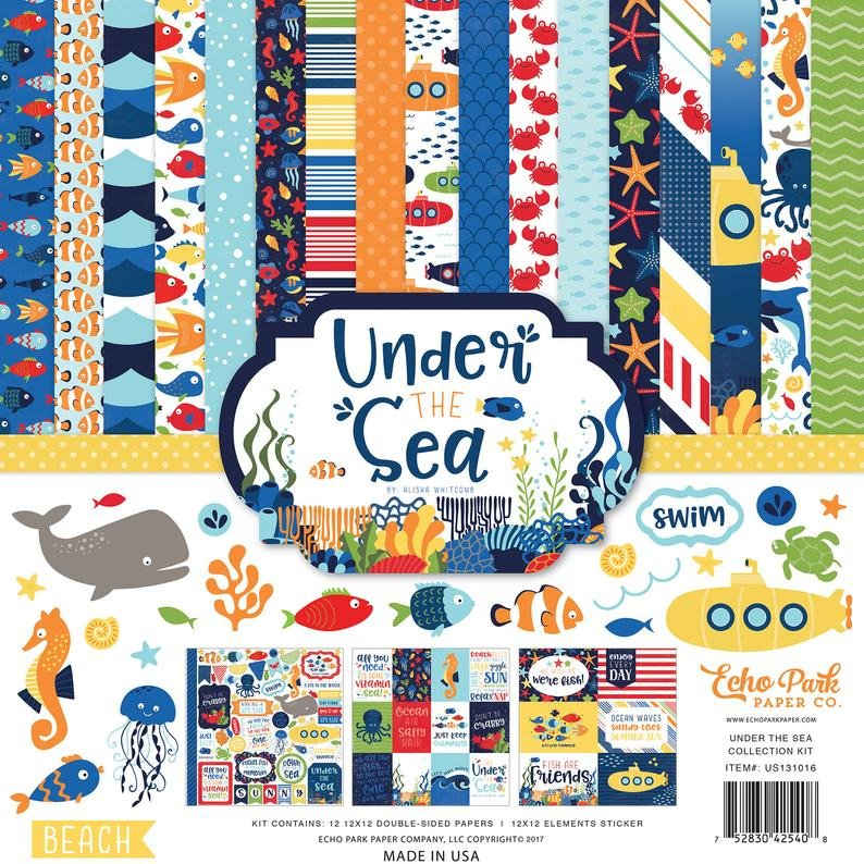 Echo Park Collection Kit 12x12 - Under the Sea