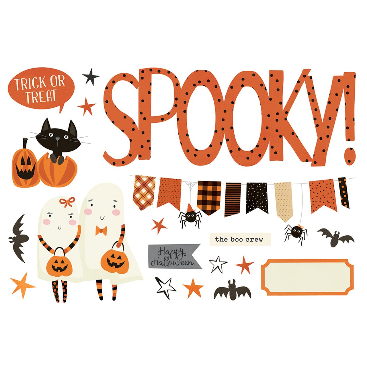 Simple Stories Simple Pages Page Pieces - Halloween