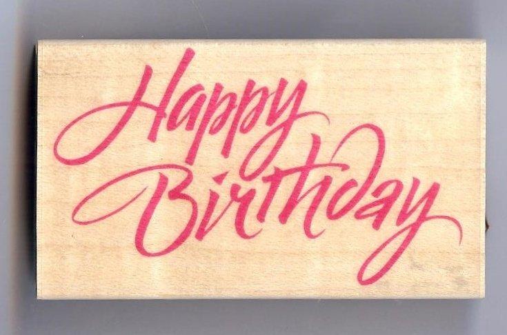 Hero Arts - Happy Birthday