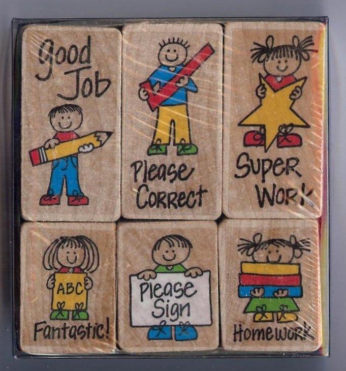 Hero Arts - Hero Kids for Teachers Stamp Set