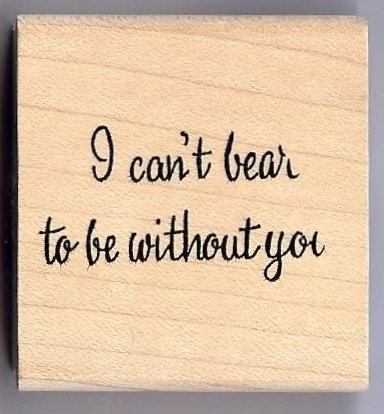 Northwoods - I Can't Bear to be Without You
