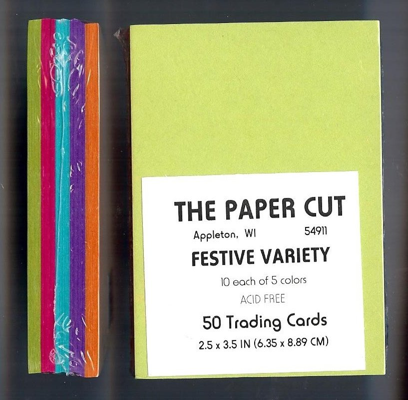 The Paper Cut - Artist Trading Cards, Festive Variety
