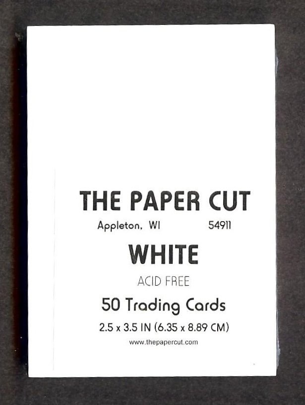 The Paper Cut - Artist Trading Cards, White