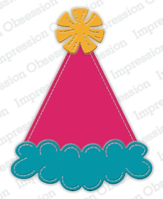 Impression Obsession - Party Hat Die Set