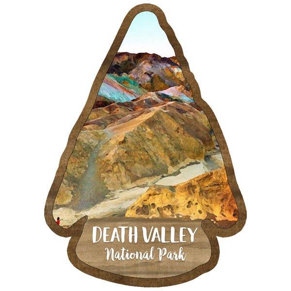Death Valley - National Park Watercolor Laser Die Cut