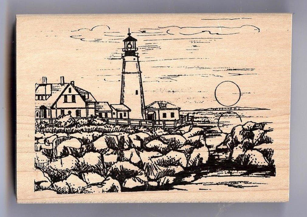 Northwoods - Lighthouse and Sunset