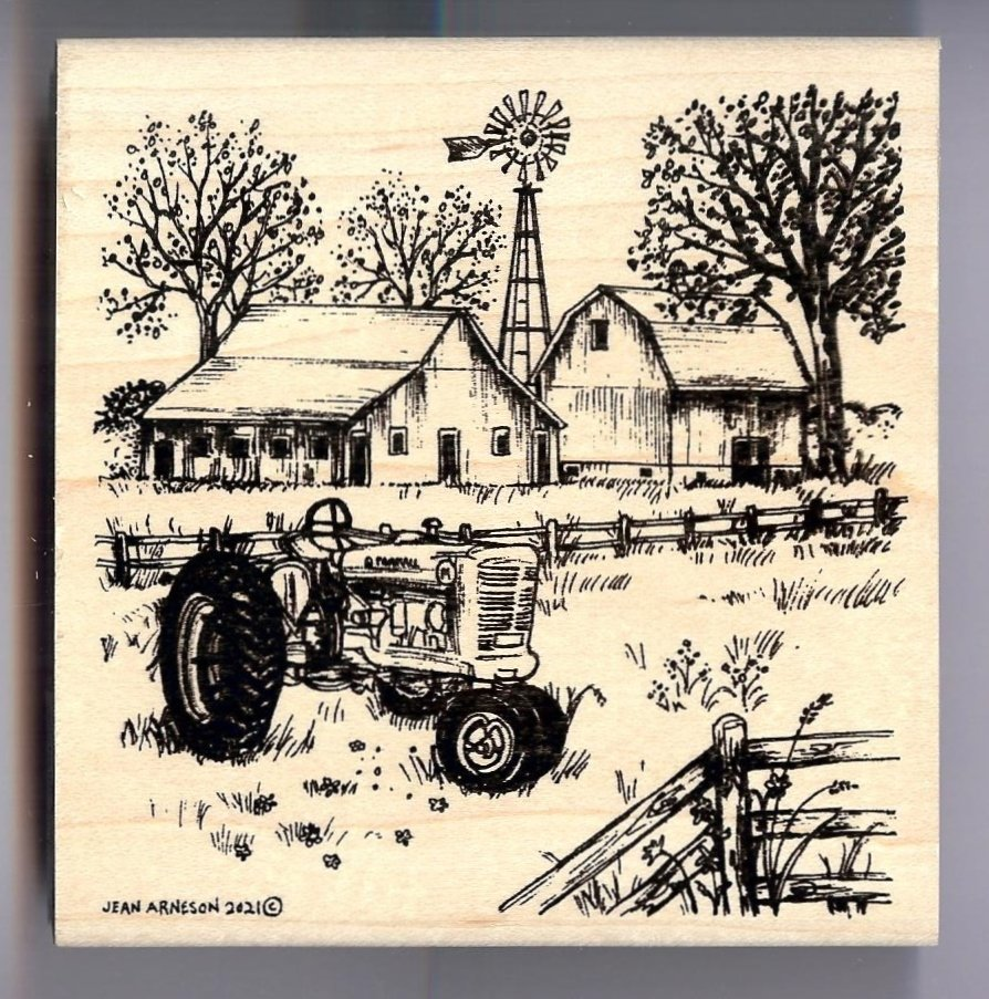 Northwoods - Spring Farm and Tractor
