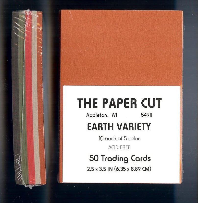 The Paper Cut - Artist Trading Cards, Earth Variety