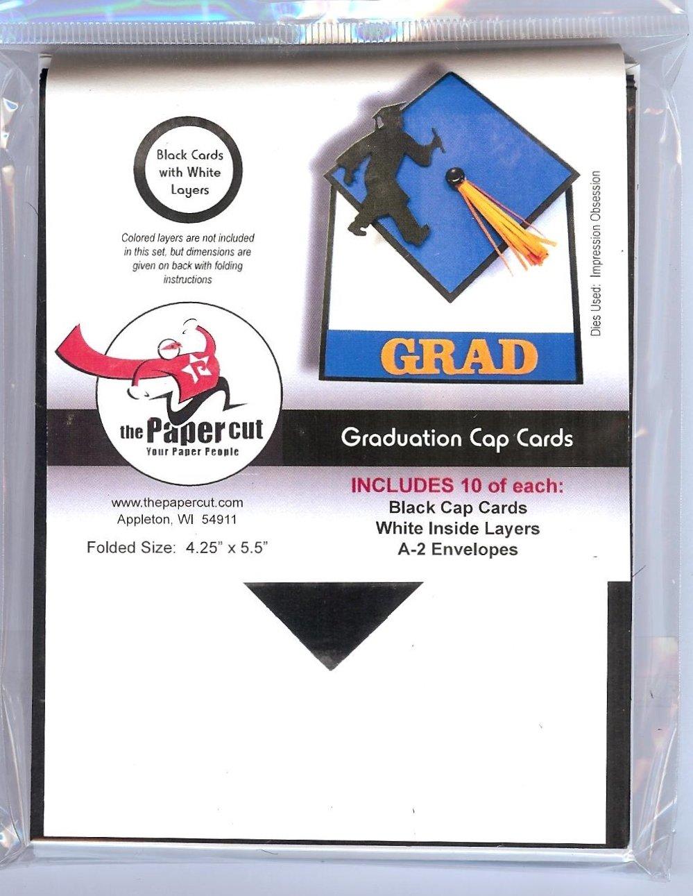 The Paper Cut - Graduation Cap Cards