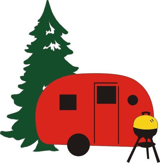 Petticoat Parlor - Camping Set Die Cuts