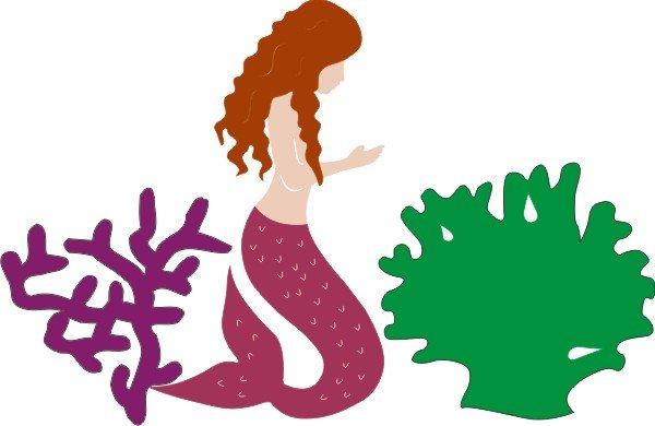 Petticoat Parlor - Mermaid, Die Cuts