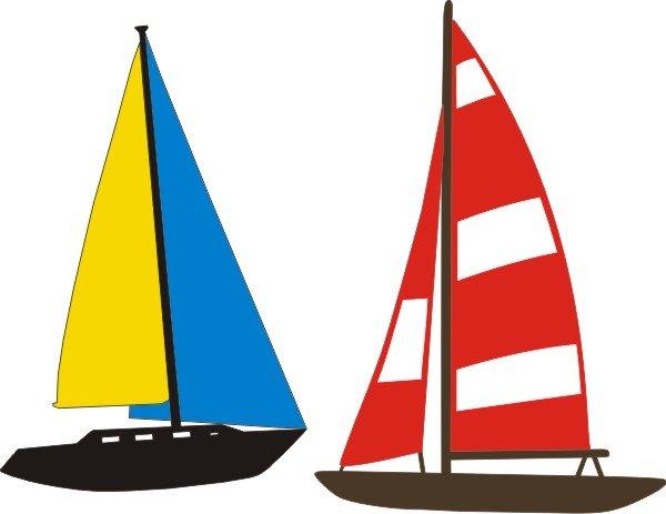 Petticoat Parlor - Sailboats, Die Cuts