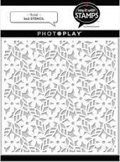 PhotoPlay - Floral Stencil, 6x6