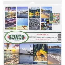 Reminisce Collection Kit 12X12 - Hawaii