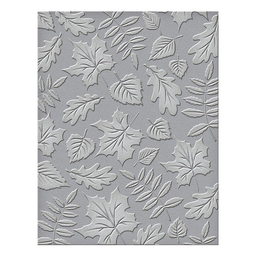 Spellbinders Embossing Folder - Falling Leaves