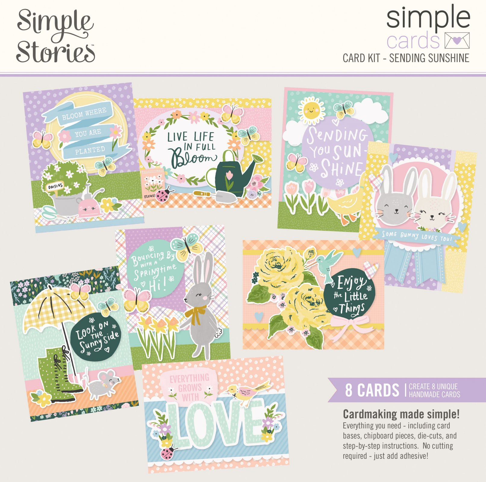 Simple Stories Simple Cards Card Kit - Sending Sunshine
