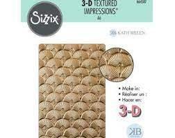 Sizzix 3D Textured Impressions - Art Deco By Kath Breen