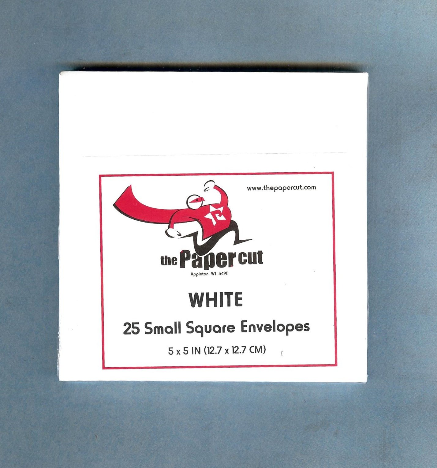 The Paper Cut, Small Square Envelopes, White, 25 count