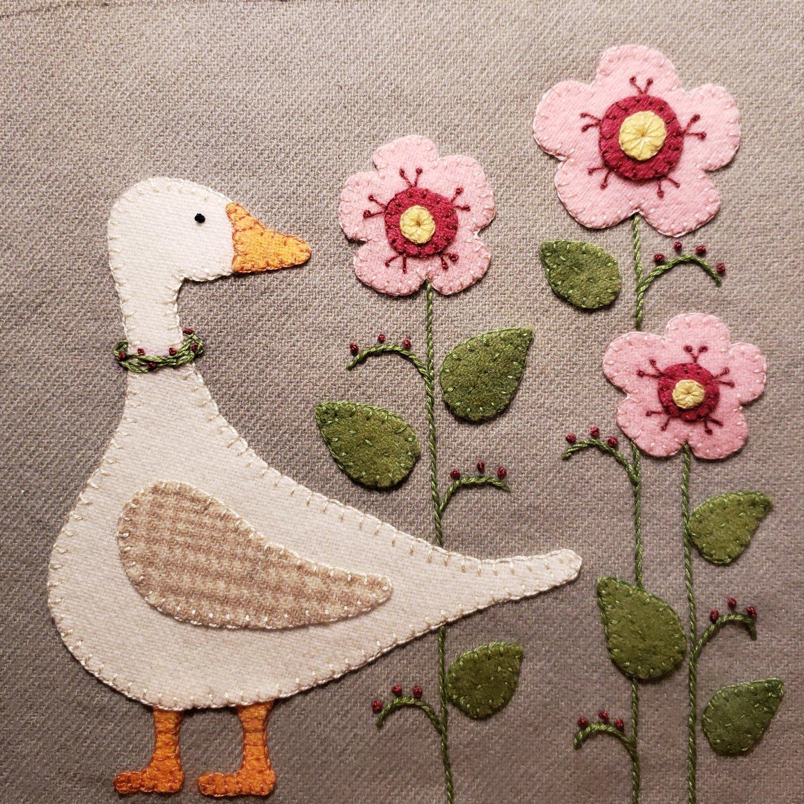 Goose In The Garden