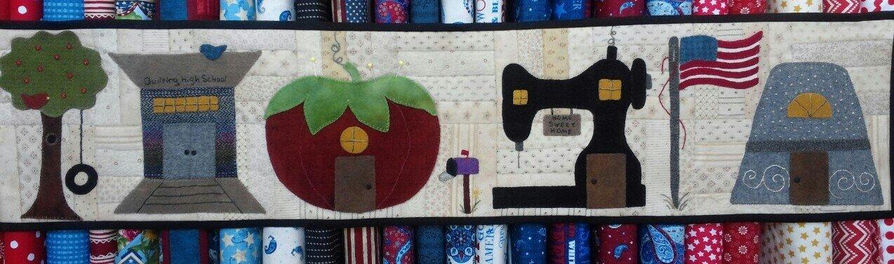 Blanket Stitch Blvd. pattern