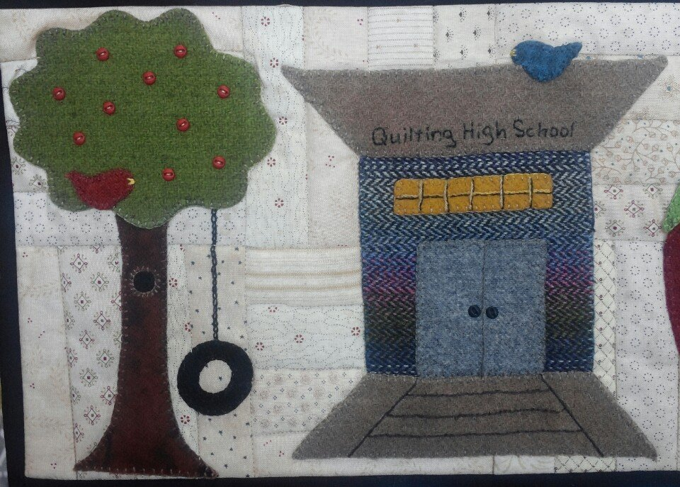 Blanket Stitch Blvd. kit