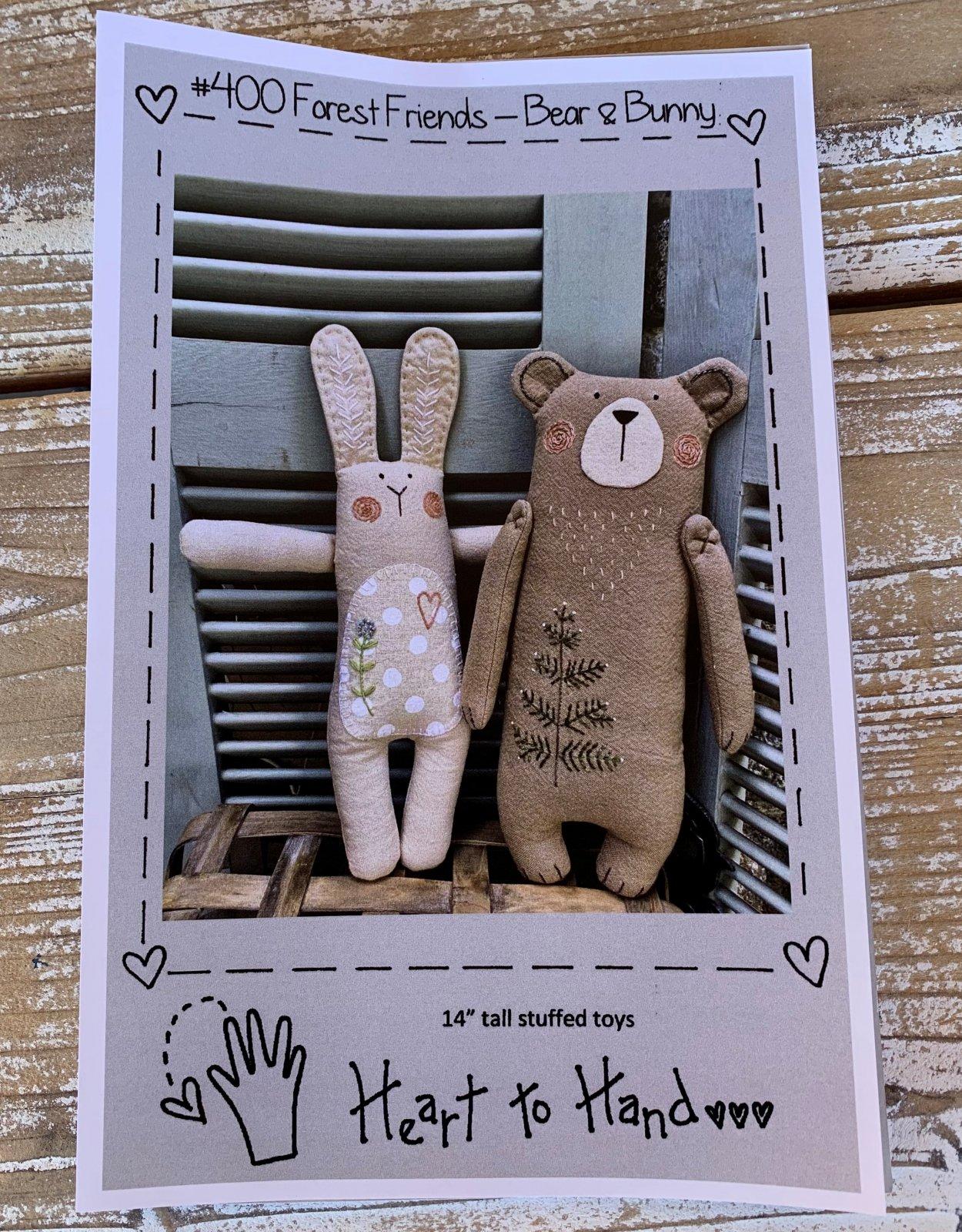 Forest Friends- Bear & Bunny