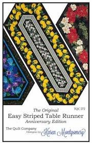 Easy Stripe Table runner
