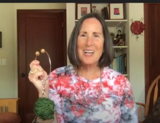 Yarn Keeper Bracelet Video