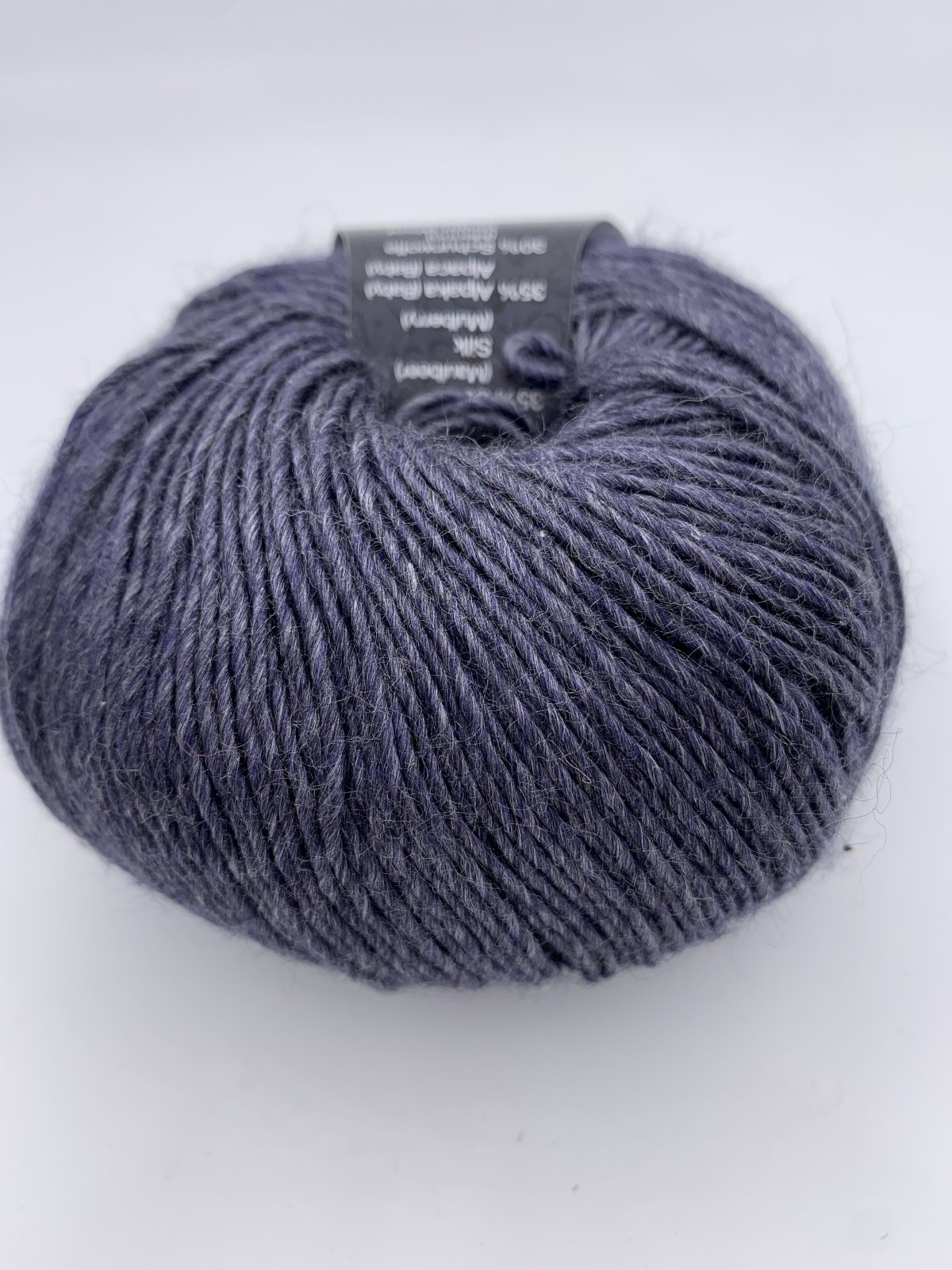 Lace Seta Mulberry 16 Gray Blue