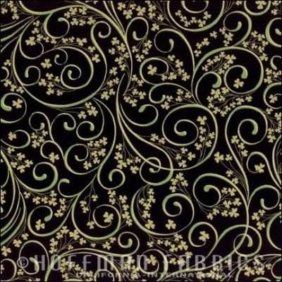 M4210-4G-Black-Gold Swirl with Heart