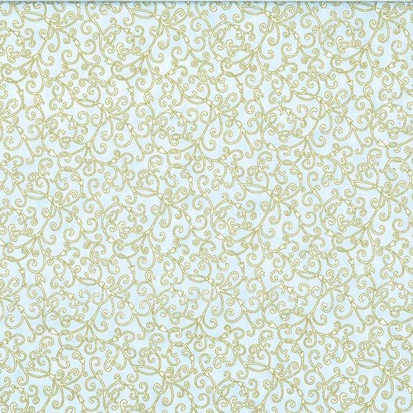 Hoffman Fabrics Sky Gold