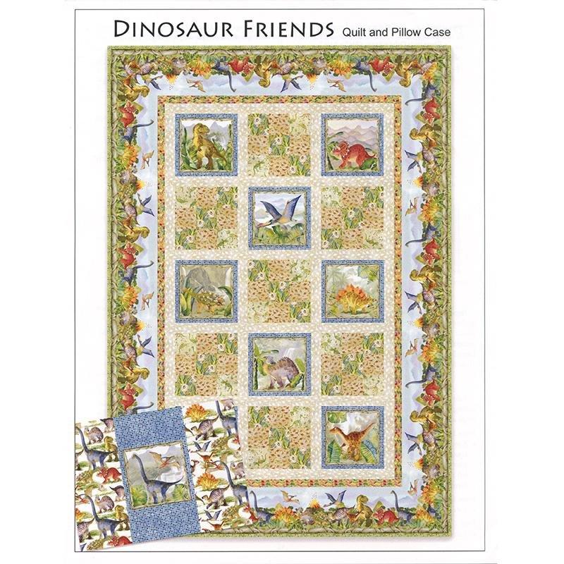 Dinosaur Friends Quilt Kit