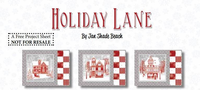 Holiday Lane Placemat Kit