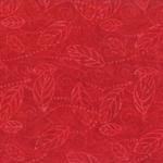 Wilmington Batik Red Leaf