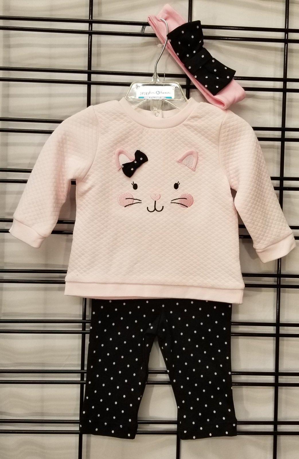 LITTLE ME - Sweatshirt/Pants set-kitty