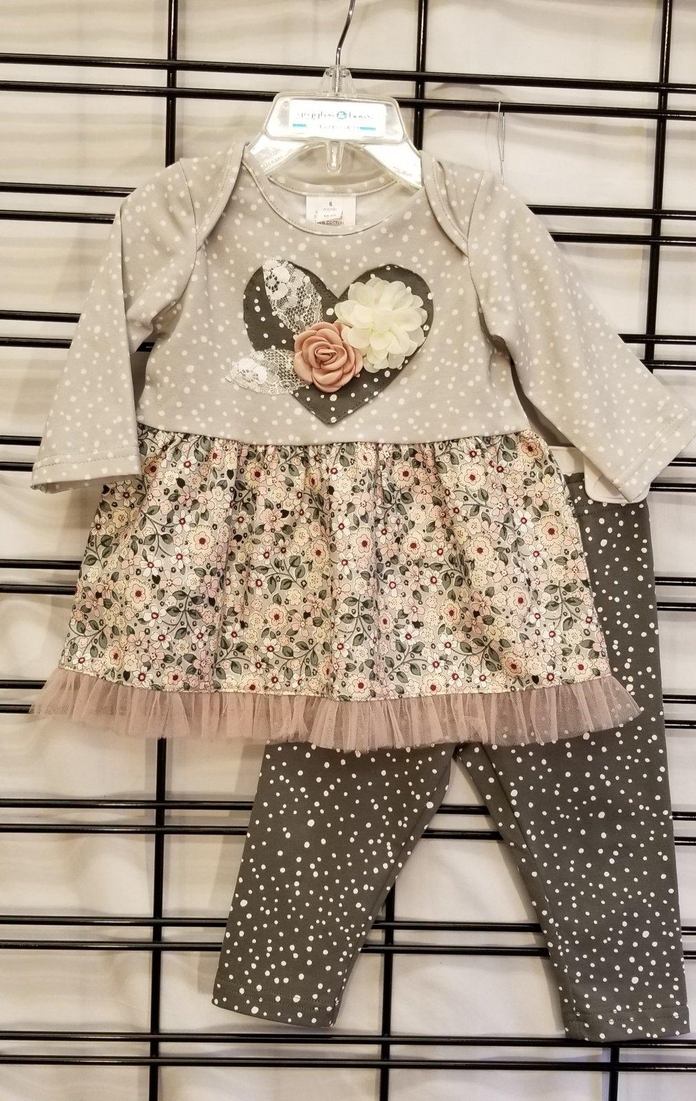 ROKI & ZOI - Floral dress/Leggings