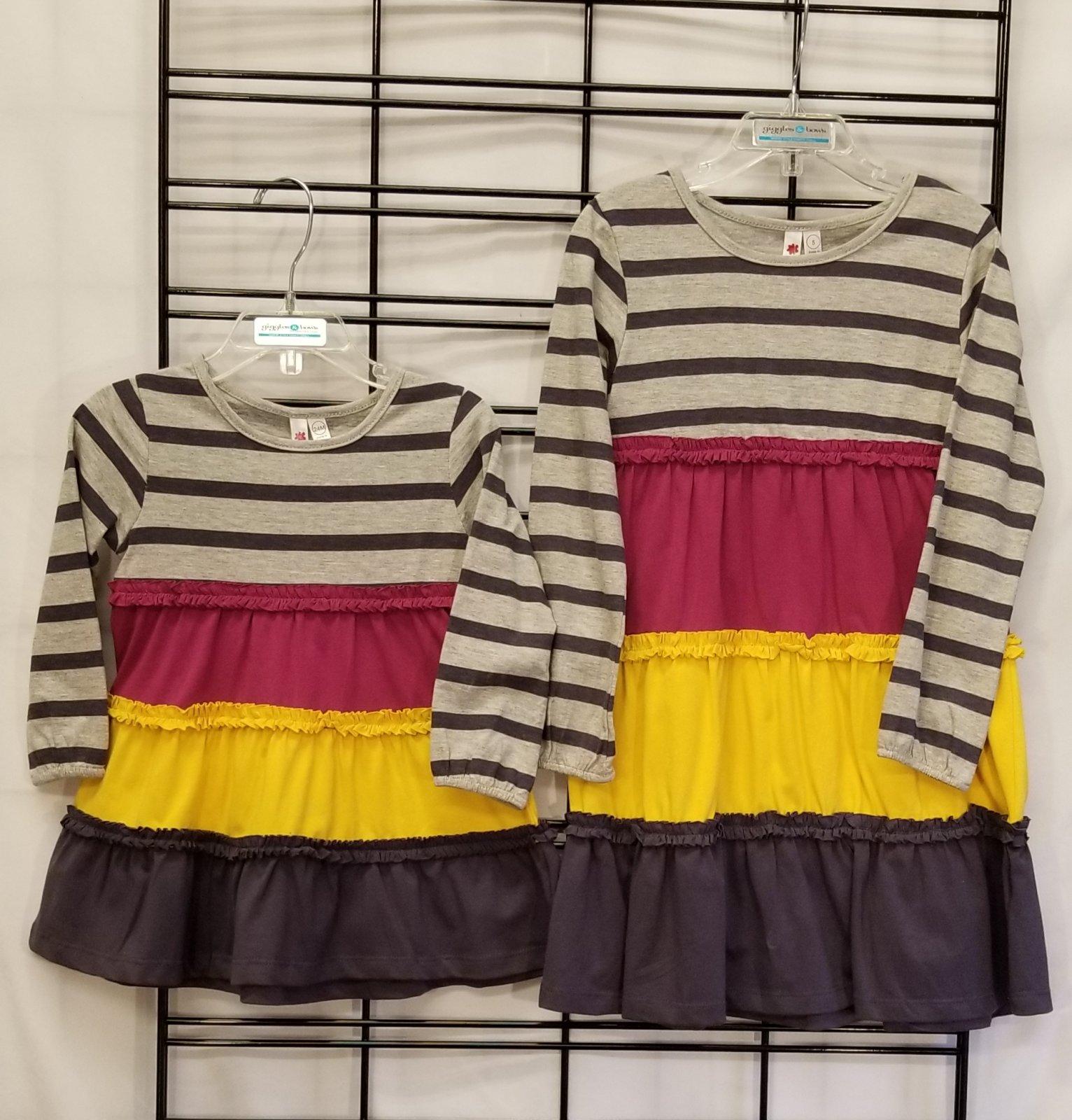 CR KIDS - Color block dress