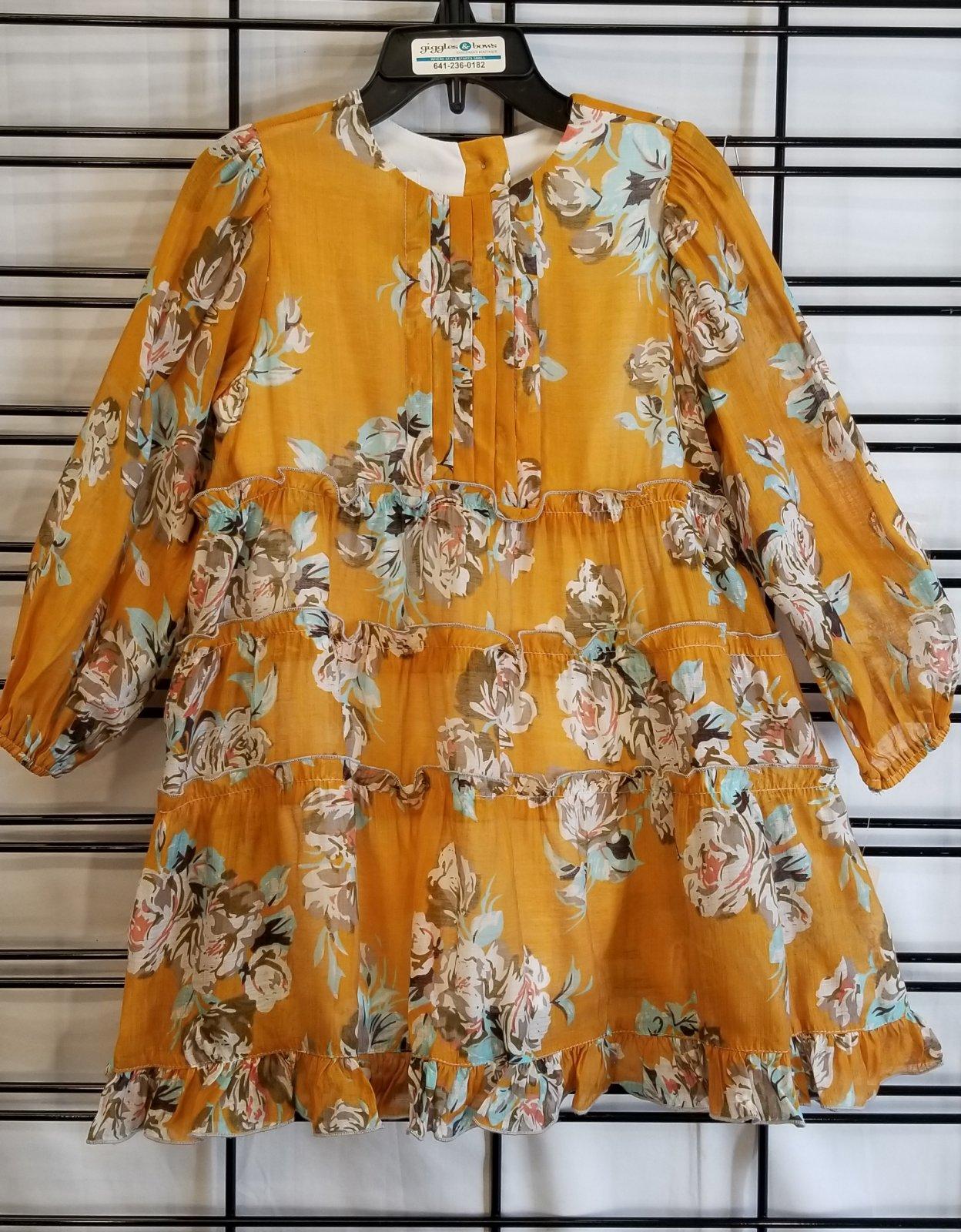 ISOBELLA & CHLOE - Mustard Dress