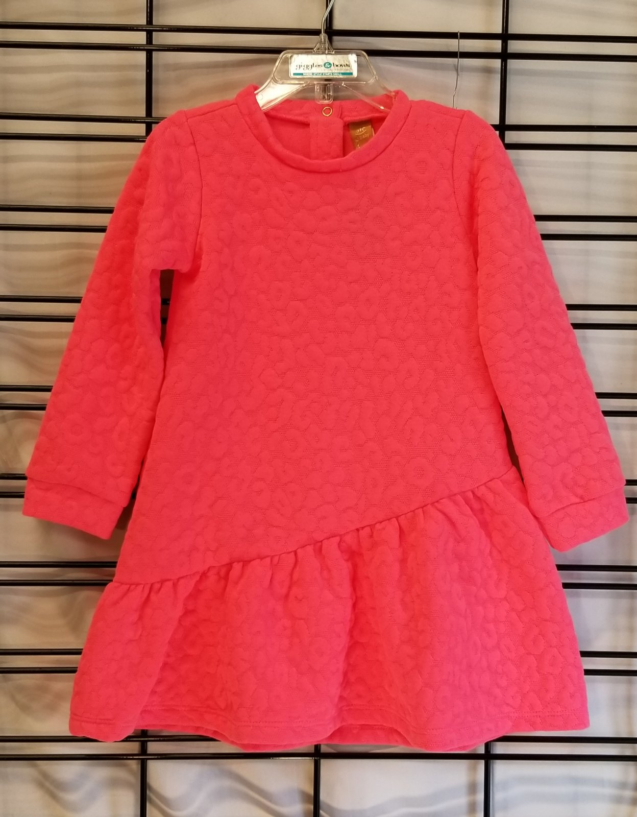 UP BABY- CORAL DRESS