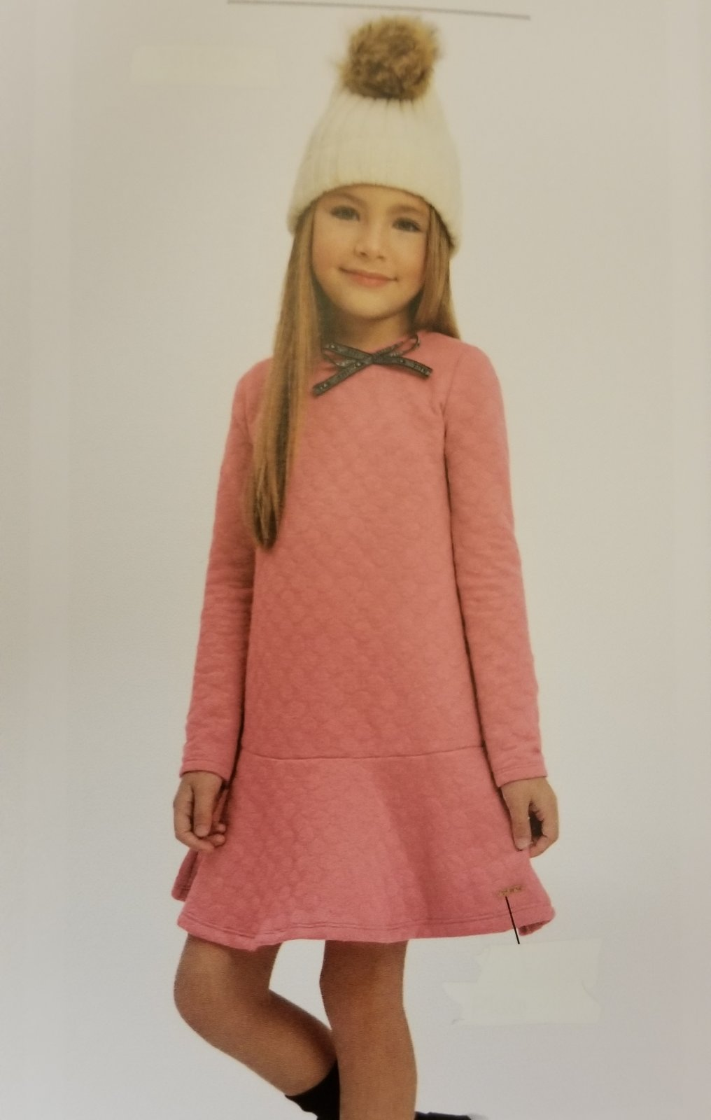 QUIMBY - Quilted Rose Dress