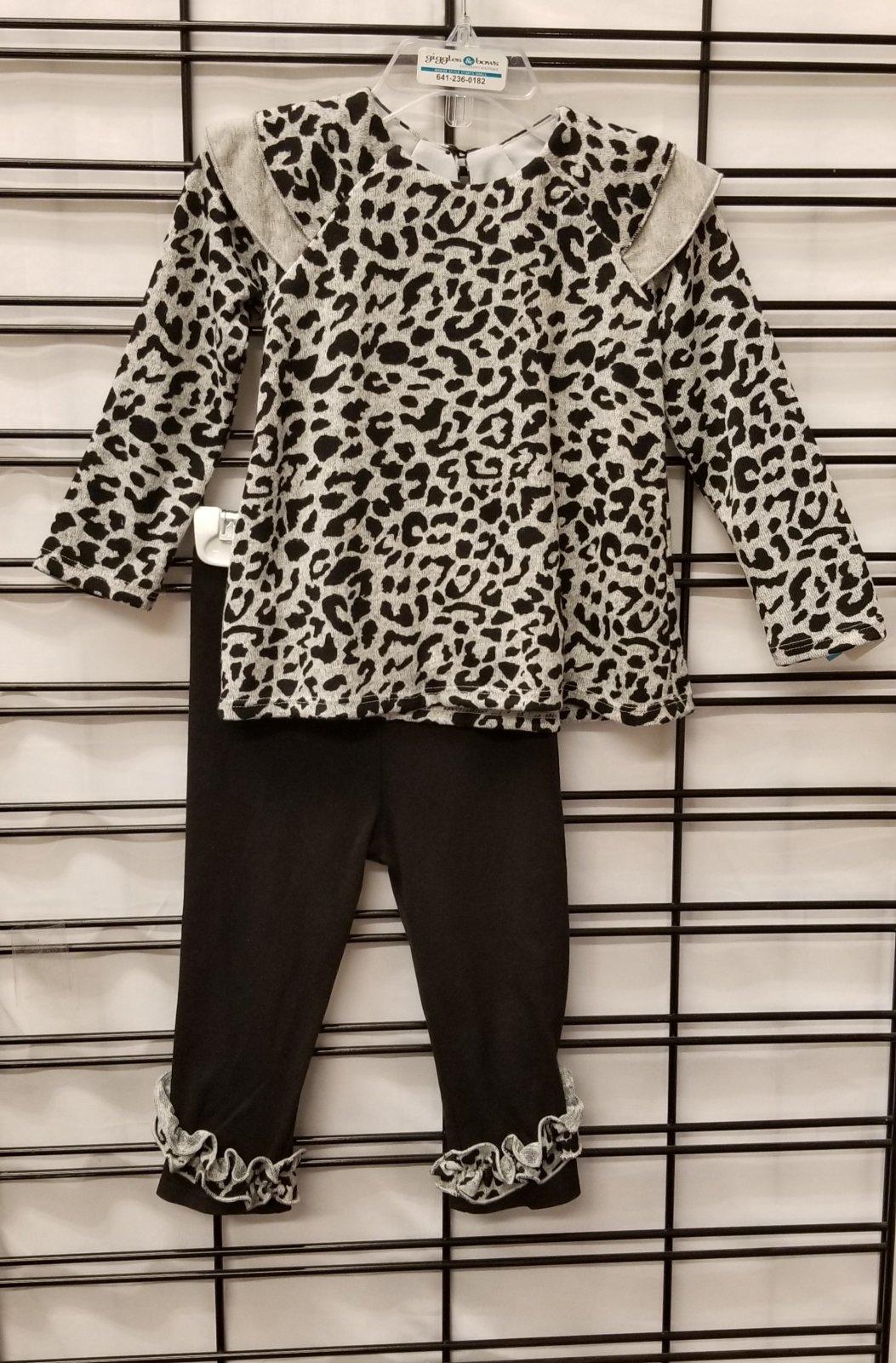 ISOBELLA & CHLOE - Leopard tunic/legging